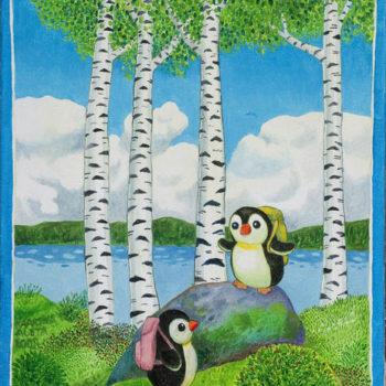 Teoksen nimi: Pingviinit Suomessa