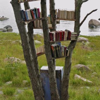 Teoksen nimi: Kirjasto, 2010