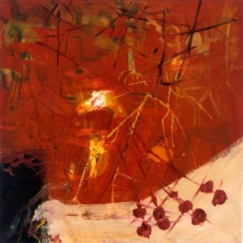 Teoksen nimi: Light Room  60x60cm oil on canvas 2003
