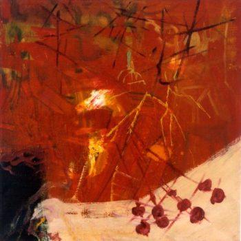 Teoksen nimi: Light Room  60x60cm oil on canvas 2003