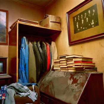 Teoksen nimi: Muistojen huone, sarjasta Ja minä käänsin sydämeni, 2005