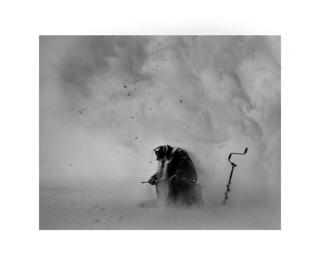 Ice – Stay # 1 METSO JUHA Ice-Stay # 1, 2014 , 80 x 100 cm  Sarjasta Jää-jää / Ice-Stay / Eis-Bleib