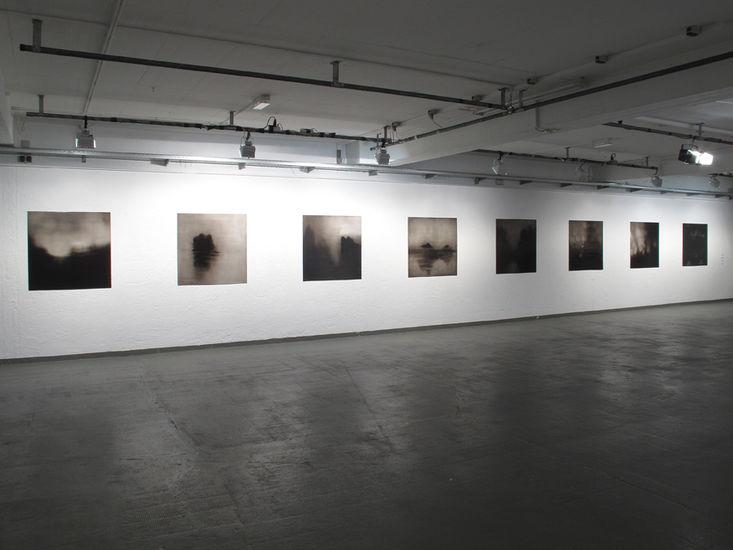 Yleisnäkymä näyttelystä, 2017