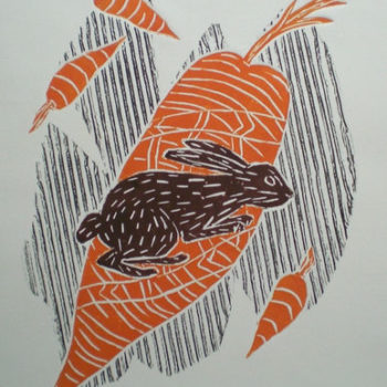 Name of the work: Porkkananpurija, Rabbit with carrots