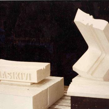 Teoksen nimi: J.K.Paasikiven muistomerkkiluonnos