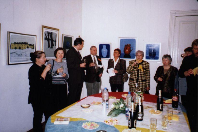 Avajaiset Moskovan näyttelyssä 2004