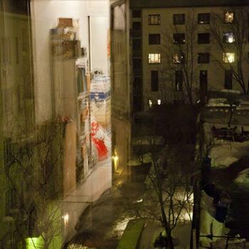 Teoksen nimi: Sarjasta Yksityiset huoneet, Helsingissä 27. maaliskuuta 2010