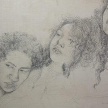 Teoksen nimi: Hiukset, Monikulttuurisen perheemme identiteettikehitys