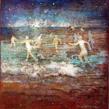 Teoksen nimi: Taivaankansi, maanpiiri  2011
