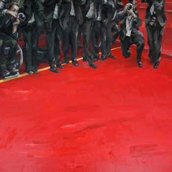 Teoksen nimi: Red carpet moment