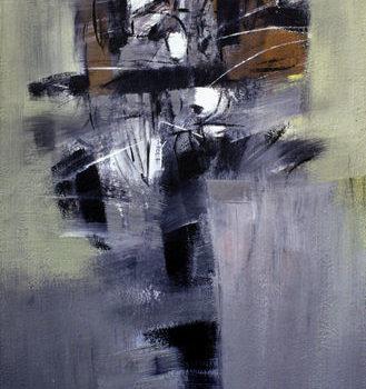 Teoksen nimi: Tempera kankaalle 150×90 cm