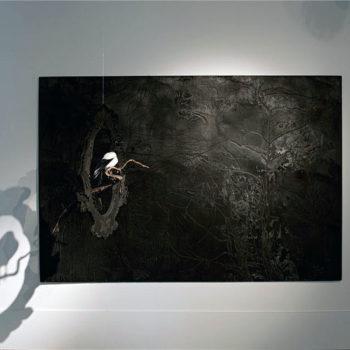 Teoksen nimi: Öinen lehto, 2012 (kuva 2)