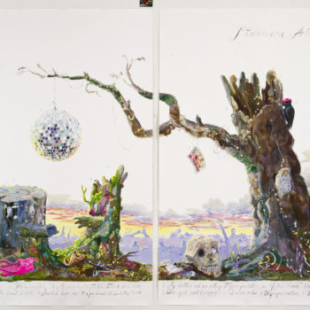 Teoksen nimi: Stubbhuvu Arboretum