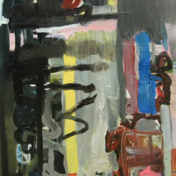 Teoksen nimi: Kaupungissa sateella, 2007