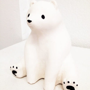 Name of the work: White bear