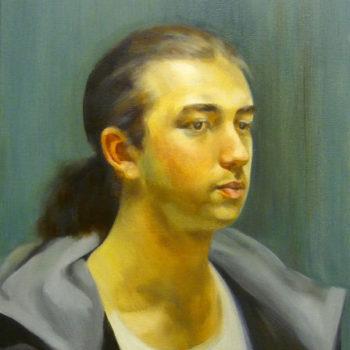 Teoksen nimi: Portrait of Man/Miehen muotokuva