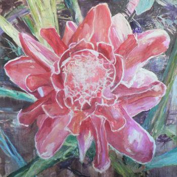 Teoksen nimi: Thaimaan kukka