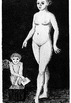 Teoksen nimi: Venus ja Amor II