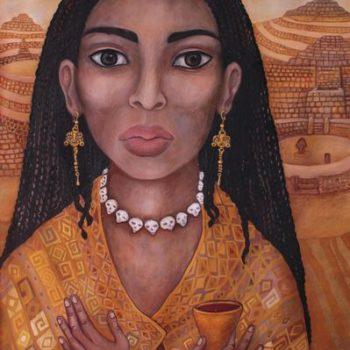 Teoksen nimi: Moche prinsessa