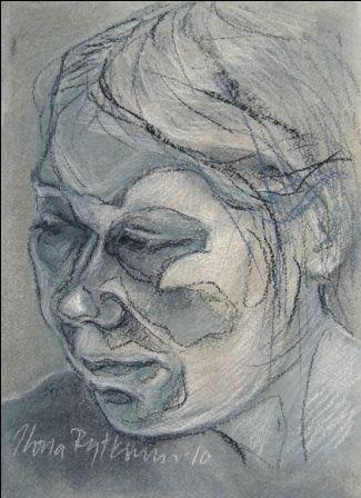 """""""Sisokset 7"""", kuivapastellisarjasta, 2010"""