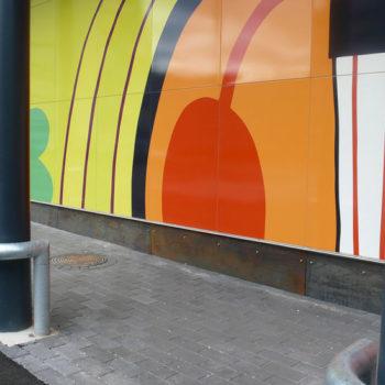Teoksen nimi: Wonderland , 2009, Arabianranta, Helsinki