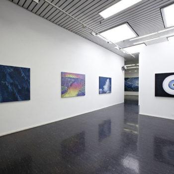 Teoksen nimi: Sisäkuva Galleria Heinon näyttelystä