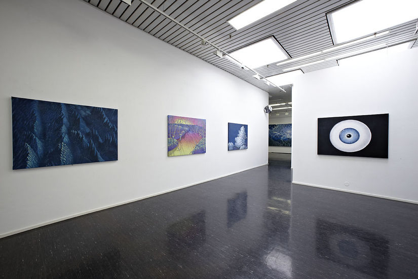 Sisäkuva Galleria Heinon näyttelystä