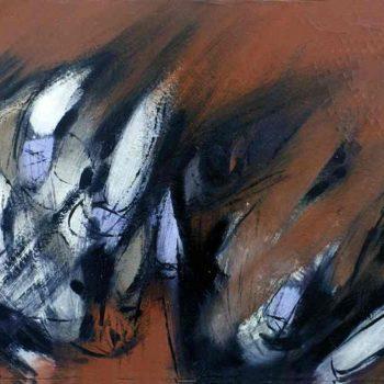 Teoksen nimi: Öljyväri kankaalle 72×116 cm