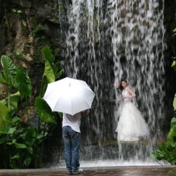 Teoksen nimi: Waterfall