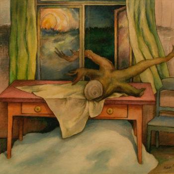 Teoksen nimi: Avoin ikkuna, 1980