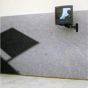 Teoksen nimi: NAARMU   video, mustesuihkutuloste (2009)