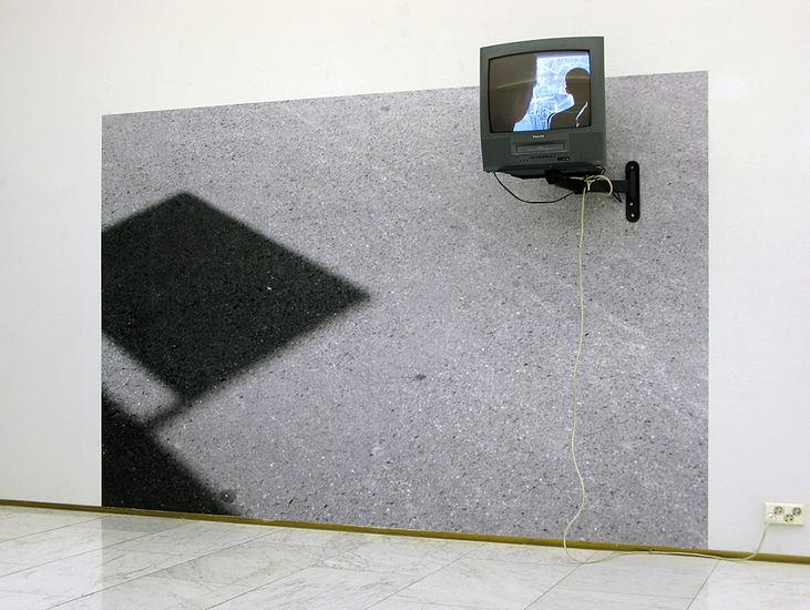 NAARMU   video, mustesuihkutuloste (2009)