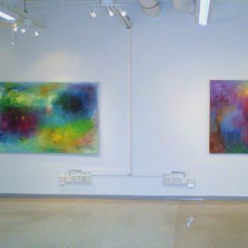 Teoksen nimi: Näyttelykuva / Villi puutarha, Galleria 3K 2011