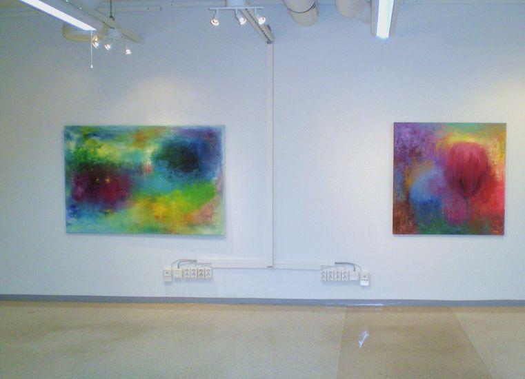 Näyttelykuva / Villi puutarha, Galleria 3K 2011