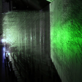 Teoksen nimi: Matter&Light 2008 / Part 2 of the  Videoinstallation/ Amos Anderson Art Museum, Helsinki