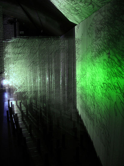 Matter&Light 2008 / Part 2 of the  Videoinstallation/ Amos Anderson Art Museum, Helsinki