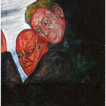 Teoksen nimi: Isä ja poika(Getsemane) 2009