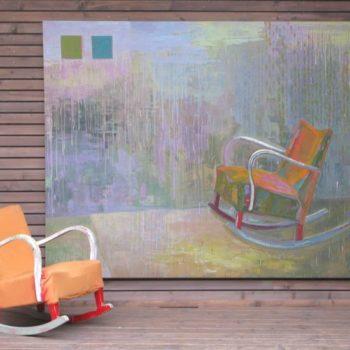 Teoksen nimi: Kiikkuuko, 2005