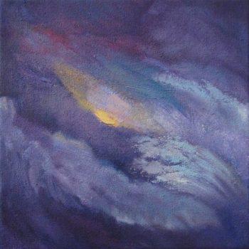Teoksen nimi: Myrsky (Psalmi 50:3) / Tempest (Psalm 50:3)
