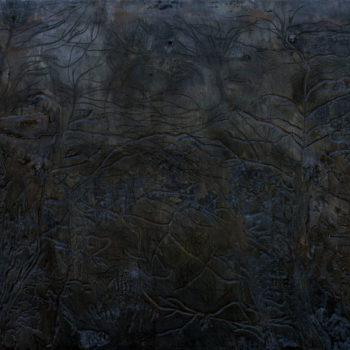 Teoksen nimi: Öinen lehto, 2012 (kuva 1)