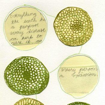 Teoksen nimi: Pietaryrtin vihreä/ Myllypuron löytöretki