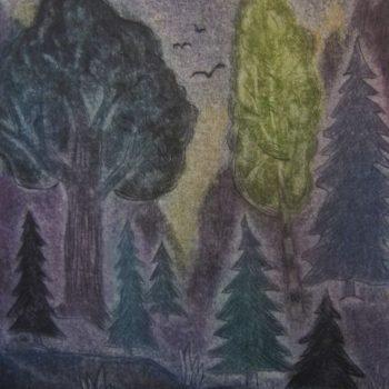 Teoksen nimi: Metsässä