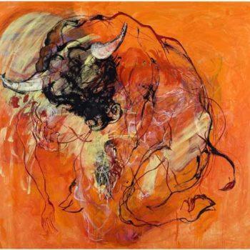 Teoksen nimi: Nainen ja Minotauros
