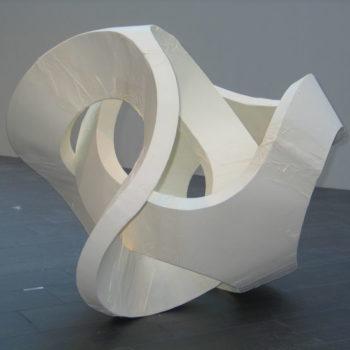 Teoksen nimi: Symbiots, Paper& Meaning -, 210 x 200 x 200, selluarkki elementit ja ohut koraanipaperi
