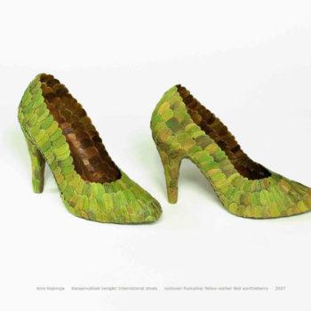 Teoksen nimi: Kansainväliset kengät
