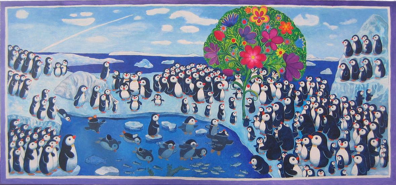 Kaksi sataa pingviiniä