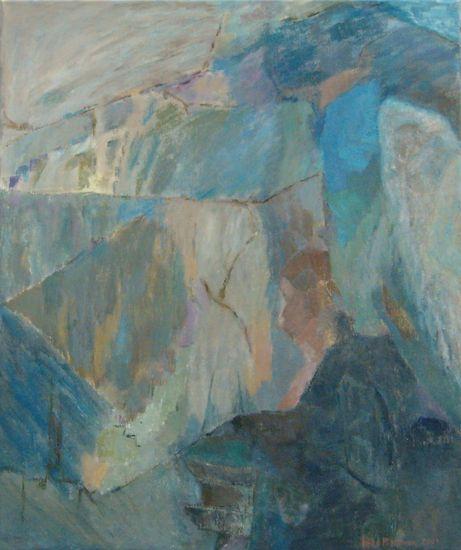 Enkelin rukous  v. 2001    120 x 100 cm