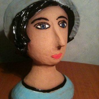 Teoksen nimi: Sininen hattu, 2012
