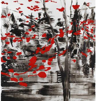 Teoksen nimi: Valoisampi kuin pilvi jonka läpi aurinko paistaa II, 2010