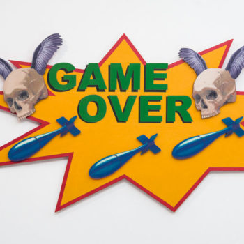 Teoksen nimi: GAME OVER